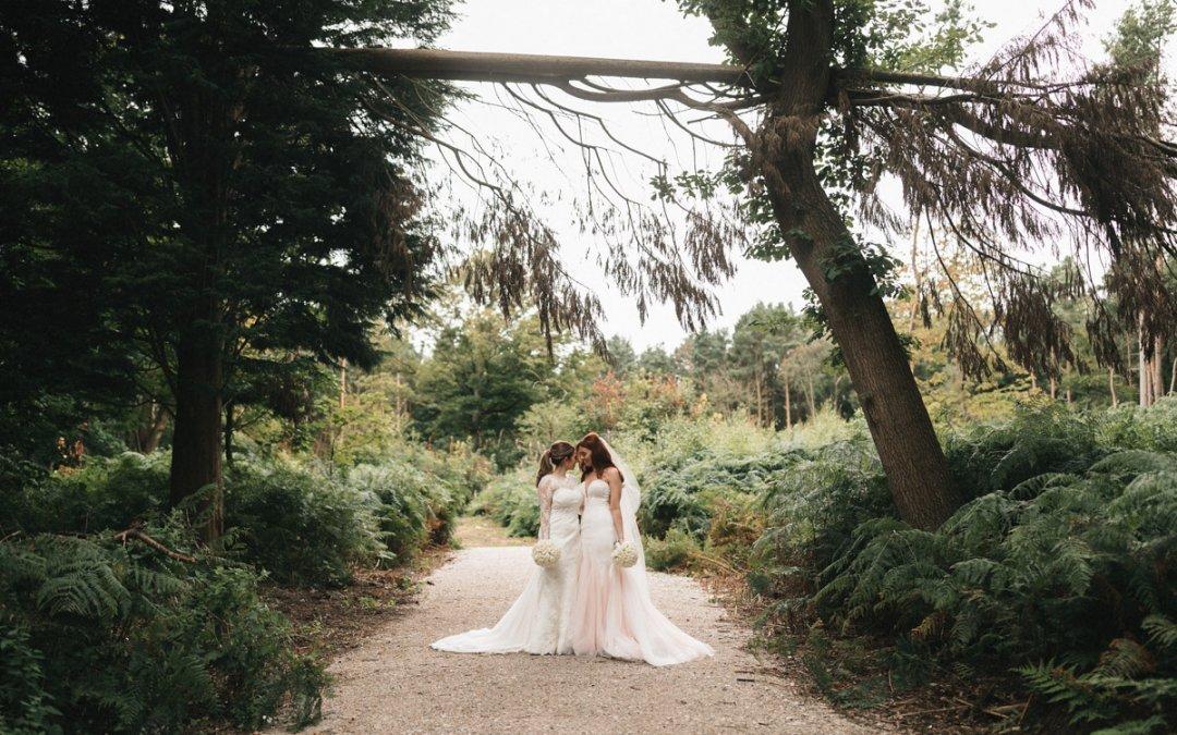 Natalie & Shannon Peckforton Castle
