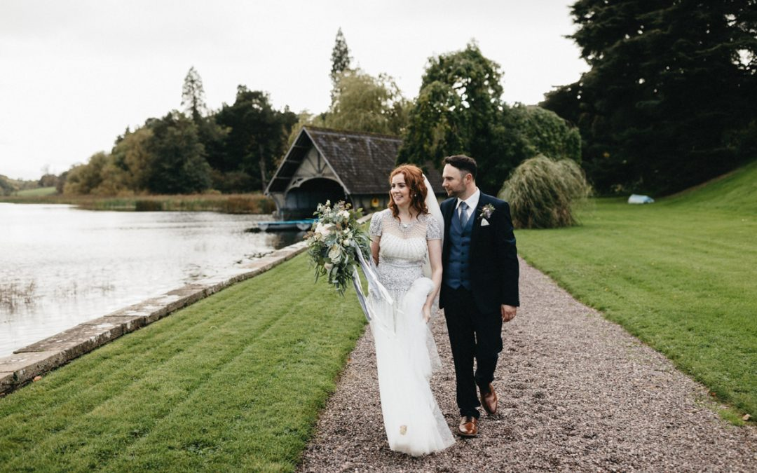 Alison & Colman – Castle Leslie Estate
