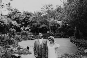 ballincurra house kinsale scenery beauty bride and groom