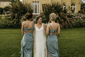 ballincurra house kinsale scenery beauty bride and groom bridesmaids