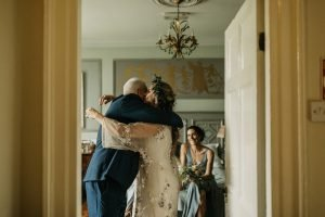 ballincurra house kinsale getting ready hugs and tears