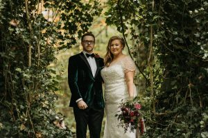 ballyscullion park, bride and groom, autumn bride